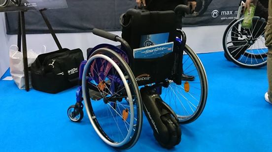 固定式の車椅子〜