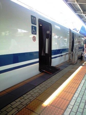 東海道新幹線は「車椅子利用=11号車」